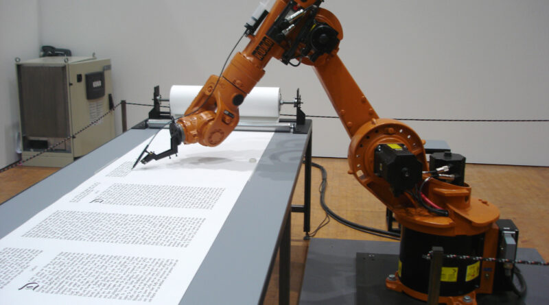 Arbejdende robotarm